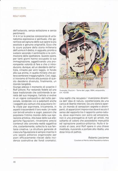 Casadellarte - 2015 - Viareggio - Buchpräsenttion